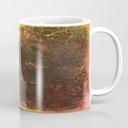 Middle of Earth, Abstract Nature Coffee Mug