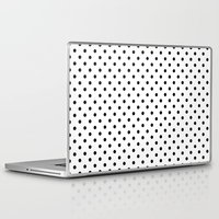 dots Laptop & iPad Skins featuring Dots by Kings in Plaid