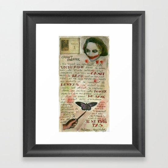 MALDOROR Framed Art Print