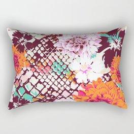 Croc Floral Rectangular Pillow