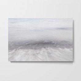 Movement, SeaScape, east cost of Mallorca Metal Print