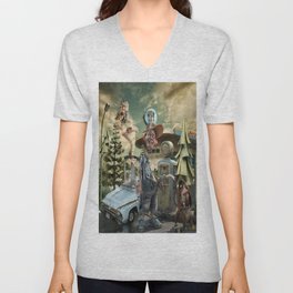 """""""Up, Up and Away"""" Unisex V-Neck"""