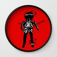 body Wall Clocks featuring body by sandra sisofo