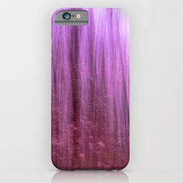 Ghostly forest iPhone Case
