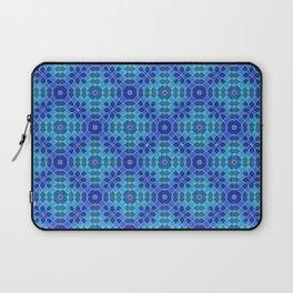 Azure Attitudes Pattern Laptop Sleeve