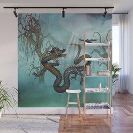 Asian dragon Wall Mural