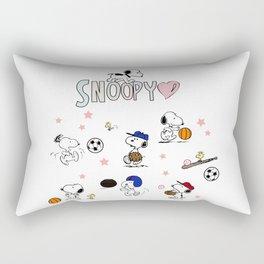 snoopy Rectangular Pillow