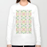 vegetables Long Sleeve T-shirts featuring Vegetables by Amy Pearson