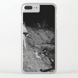 Devil is Fine Clear iPhone Case