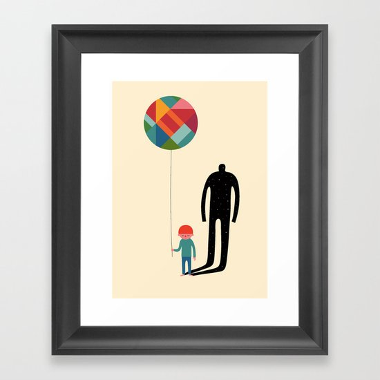 Grow Up Framed Art Print