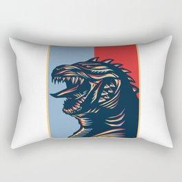 Zillagodzilla Rectangular Pillow