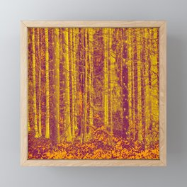 In the middle of the forest #decor #society6 Framed Mini Art Print