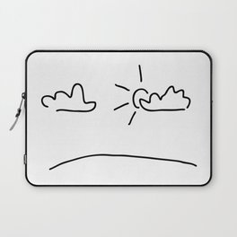 sky with the sun and clouds Laptop Sleeve