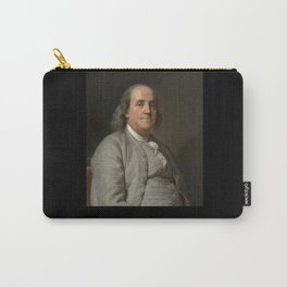 Duplessis. Portrait of Benjamin Franklin 2 Carry-All Pouch