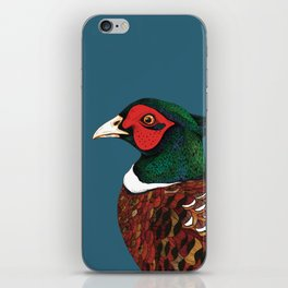 Woodland Pheasant  iPhone Skin