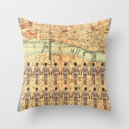 The South Bank Boys Throw Pillow