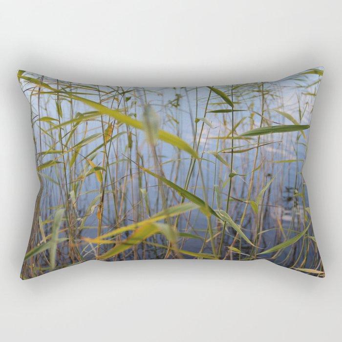 Bed of reeds Rectangular Pillow