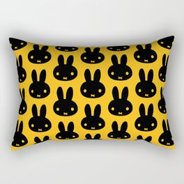 bunnies everywhere ultra pattern Rectangular Pillow