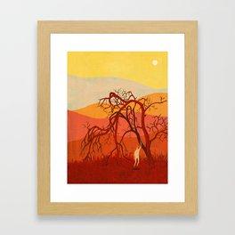 The Blight Framed Art Print