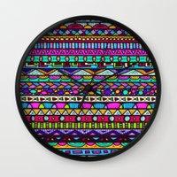 destiny Wall Clocks featuring Destiny by Erin Jordan