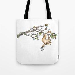 Slow Tea Tote Bag