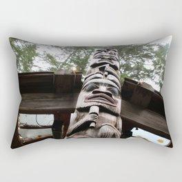 up the totem Rectangular Pillow