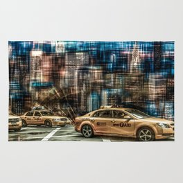 NYC - Yellow Cabs Rug