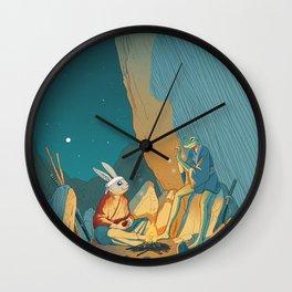 Master and student Wall Clock