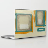 rothko Laptop & iPad Skins featuring Soft And Bold Rothko Inspired by Corbin Henry