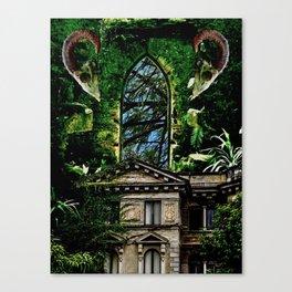 Hoarder's Corridor Canvas Print
