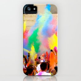 Holi Open Air Festival Berlin iPhone Case