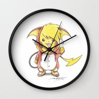 projectrocket Wall Clocks featuring Spark of Brilliance by Randy C