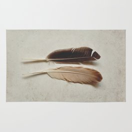 Feathered Pair Rug