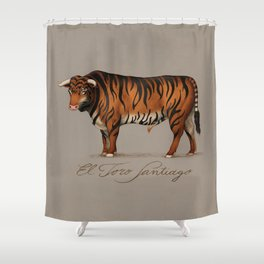 Toro Santiago Shower Curtain