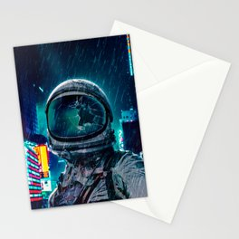 A Rainy Night Stationery Cards