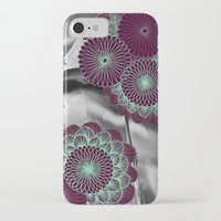 geode iPhone & iPod Cases featuring Geode 5 by michiko_design