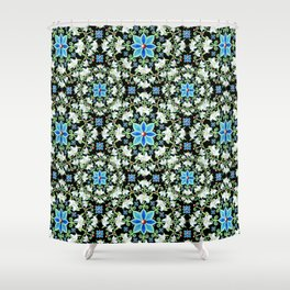 Beaux Arts Folkloric Lily Shower Curtain