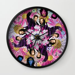 alien hunters from the flower planet Wall Clock
