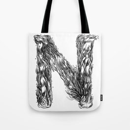 The Illustrated N Tote Bag