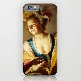 "Gerard van Honthorst ""The procuress"" iPhone Case"