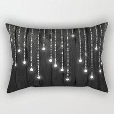 Fairy Lights on Wood 04 Rectangular Pillow