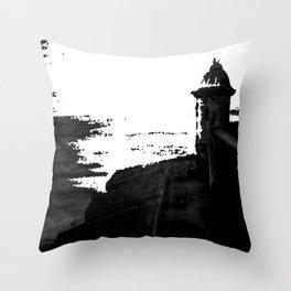 La Garita en San Juan Throw Pillow