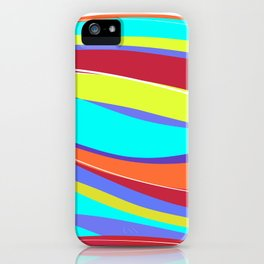 Waves of Colour iPhone Case