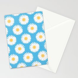 Spring Daisies_Blue Sky Stationery Cards