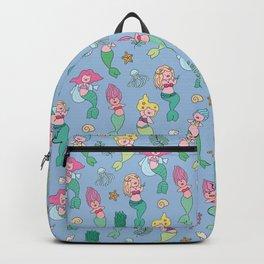 piggy mermaids Backpack