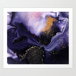 Flow I Abstract Art Print