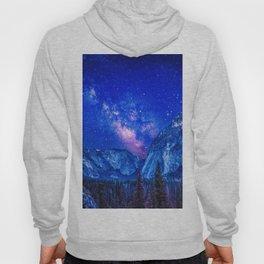 Milky Way Over Mountain Hoody