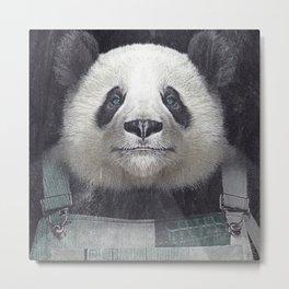 Billy Bob Panda Metal Print