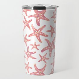 Coral Starfish Travel Mug