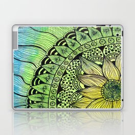 sunflower tangle Laptop & iPad Skin